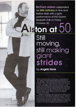 Alston at 50 Still Moving, Still Making Giant Strides